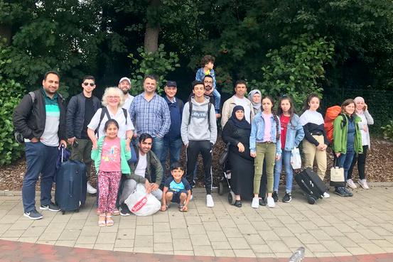 Familienfreizeit der Sunday-Gruppe an der Nordsee