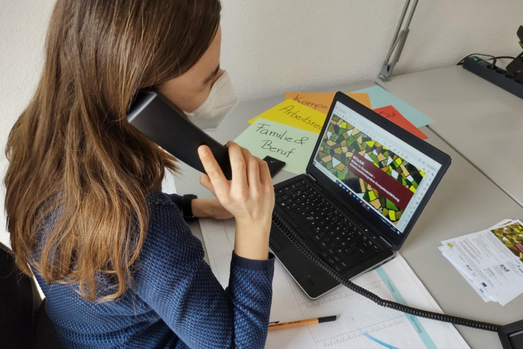 Digitales Berufscoaching für Mütter mit Migrationsgeschichte
