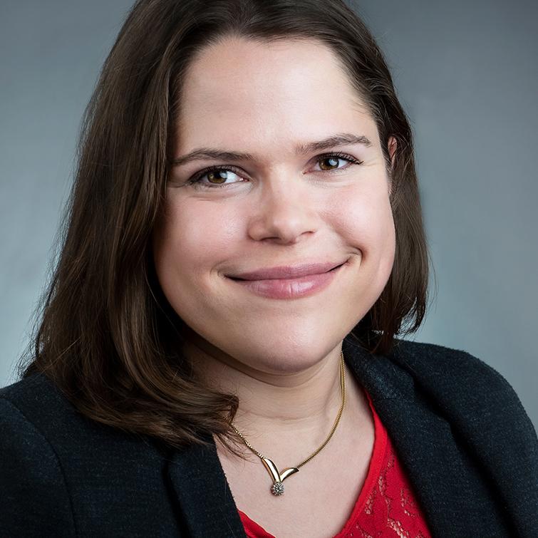 Profilbild Laura Baumann Öffentlichkeitsarbeit