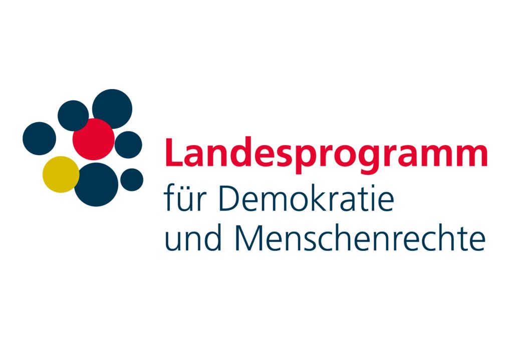 Logo Landesprogramm für Demokratie und Menschenrechte