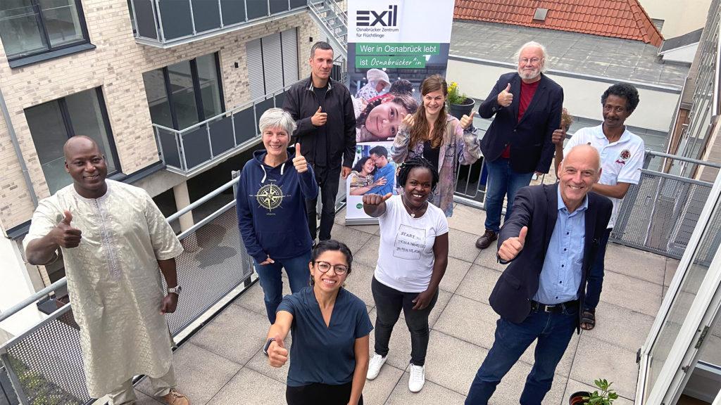 Gruppenbild Exil-Vorstand